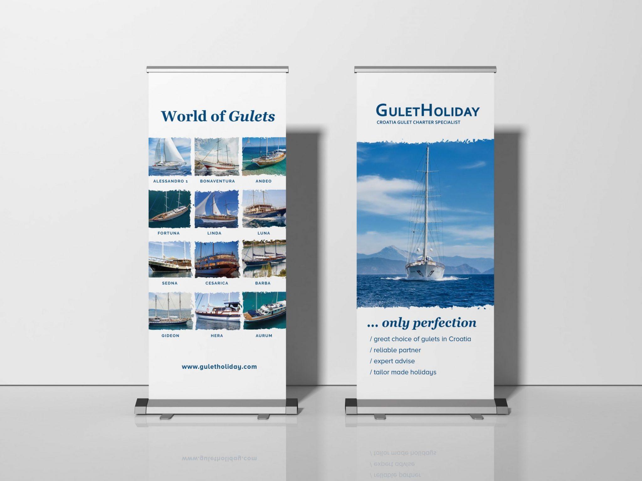gulet holiday banneri